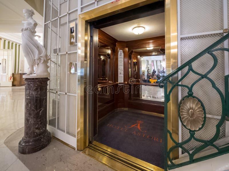 俄罗斯圣彼得堡阿斯托利亚酒店 库存图片