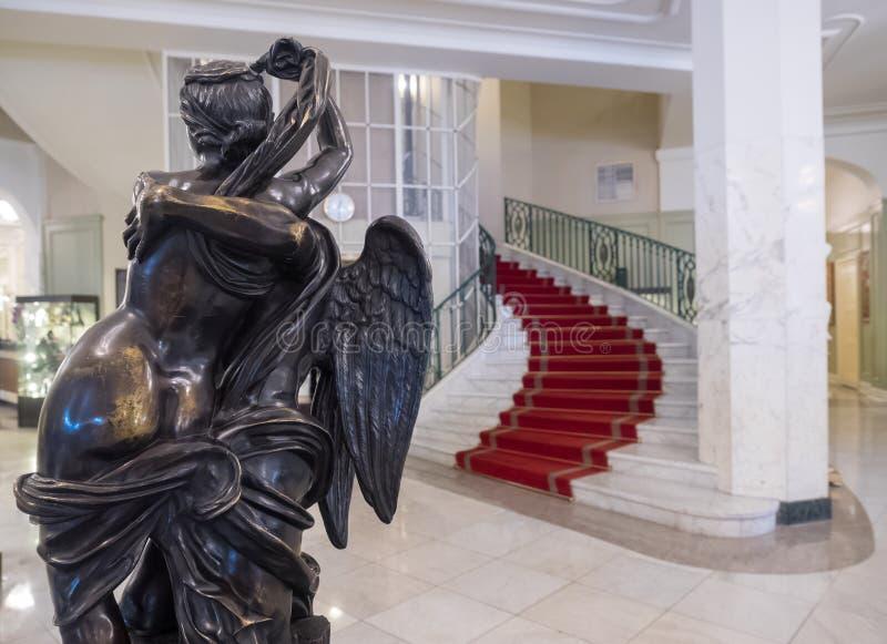 俄罗斯圣彼得堡阿斯托利亚酒店 免版税库存图片