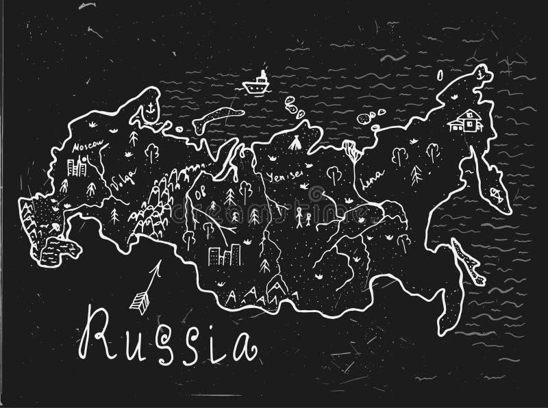 俄罗斯地图传染媒介图片