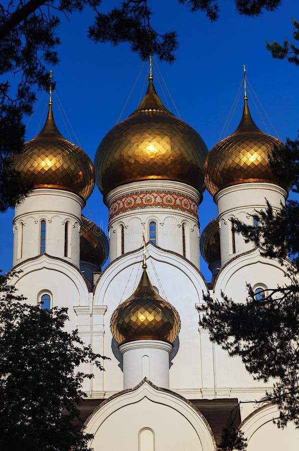 俄罗斯正教会的看法 免版税图库摄影
