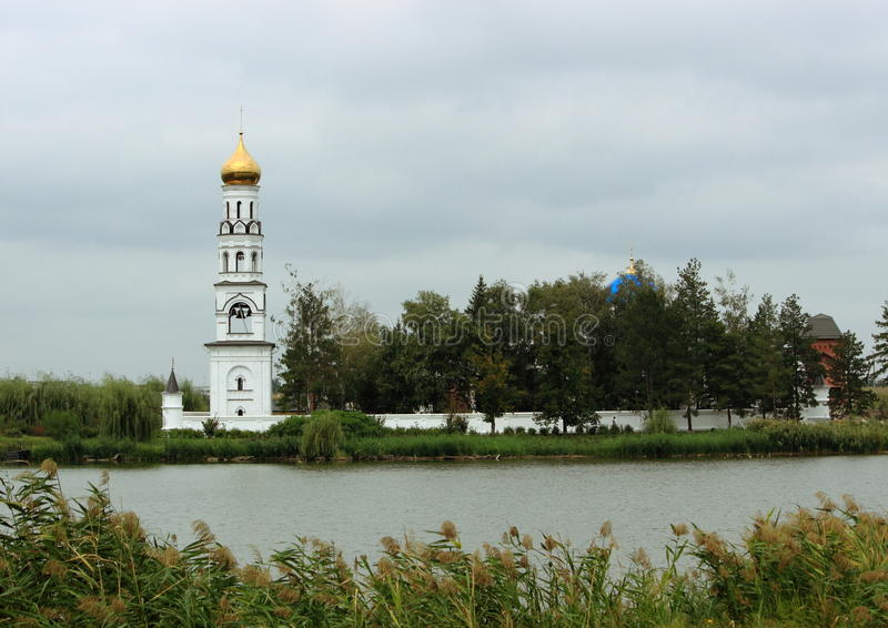 俄罗斯的南部的女修道院 库存照片