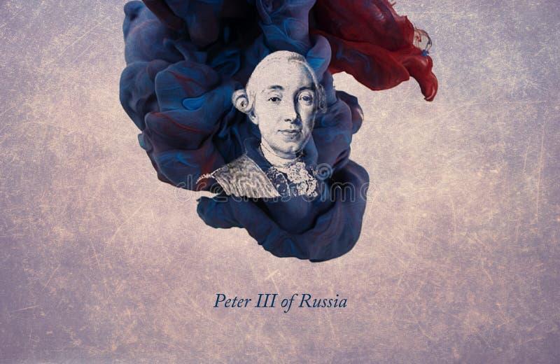 俄罗斯的皇帝彼得三世 库存例证