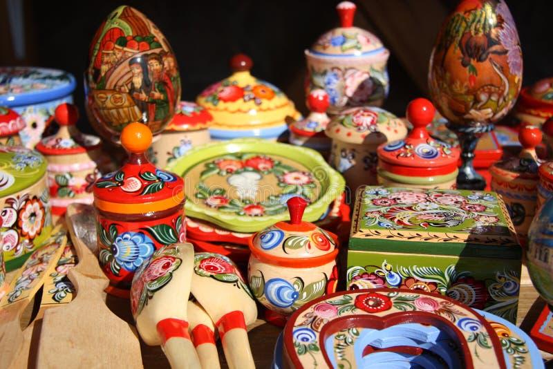 从俄罗斯的纪念品 库存照片