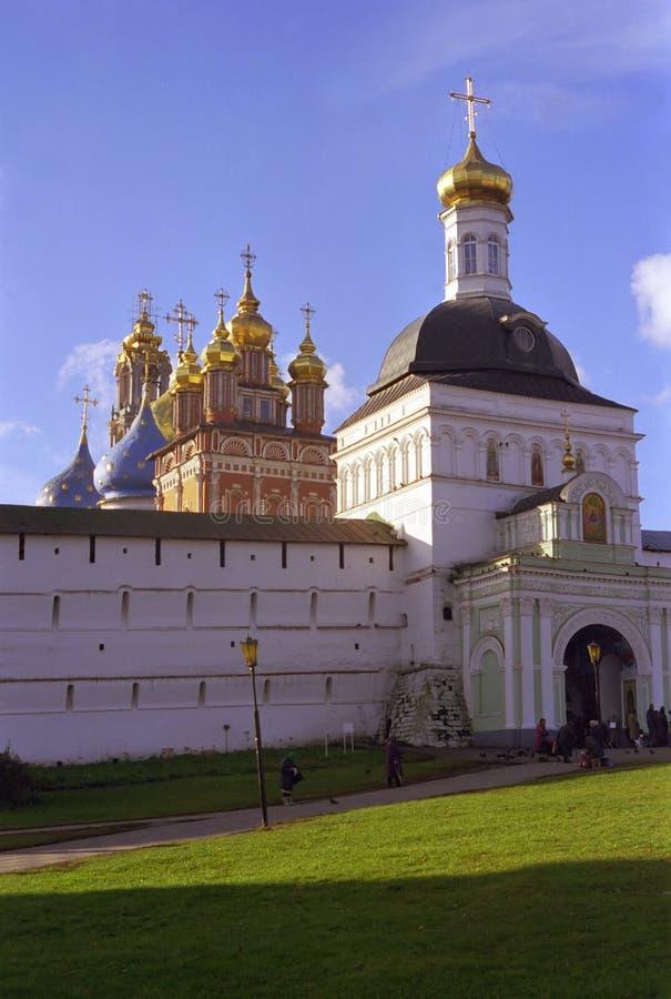 俄语的教会 免版税库存图片