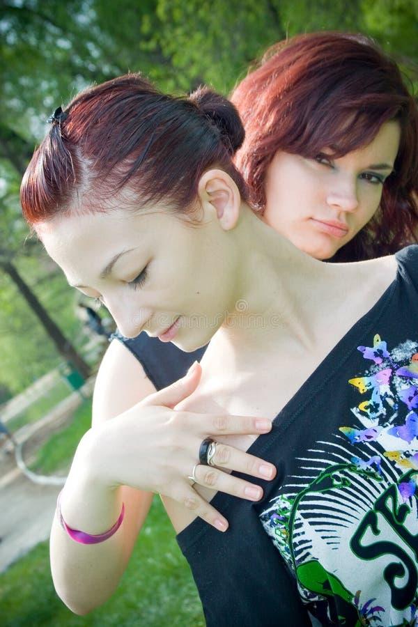 Download 俏丽女孩的公园 库存照片. 图片 包括有 冥想, 神秘, 逗人喜爱, 考虑, beautifuler, 女孩 - 2825642