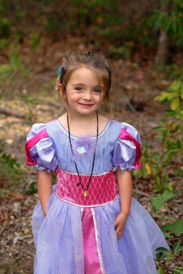 俏丽的公主 库存照片