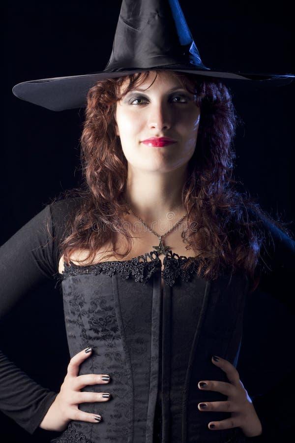 俏丽的巫婆 免版税库存照片