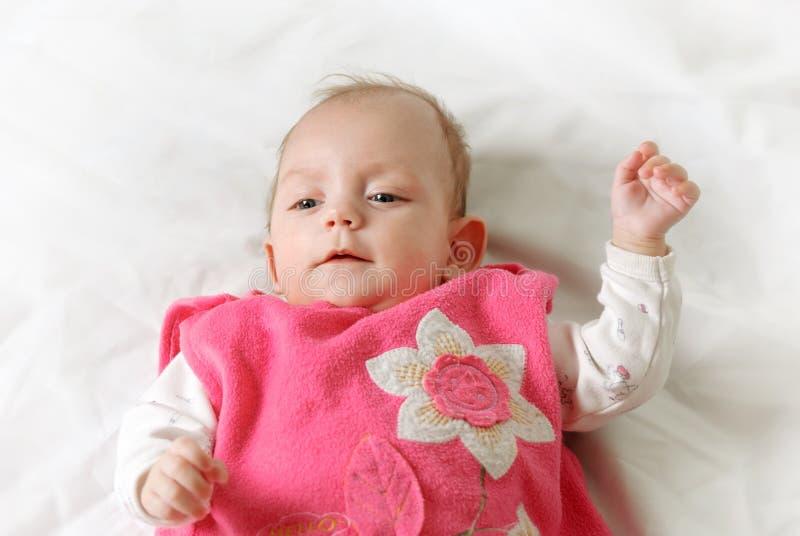 俏丽的婴孩 免版税库存照片