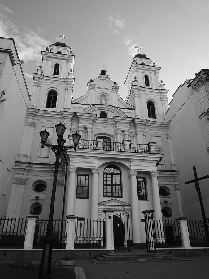 保佑的圣母玛丽亚的ArchbishopCathedral 库存照片