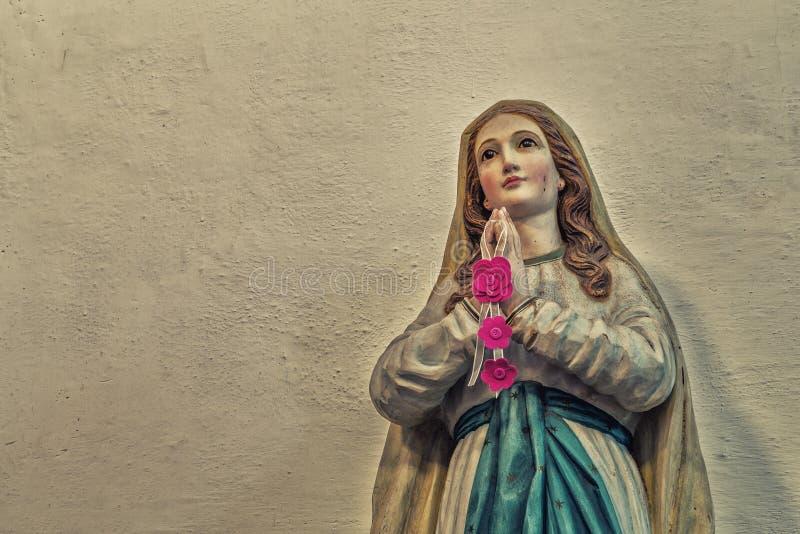 保佑的圣母玛丽亚 图库摄影