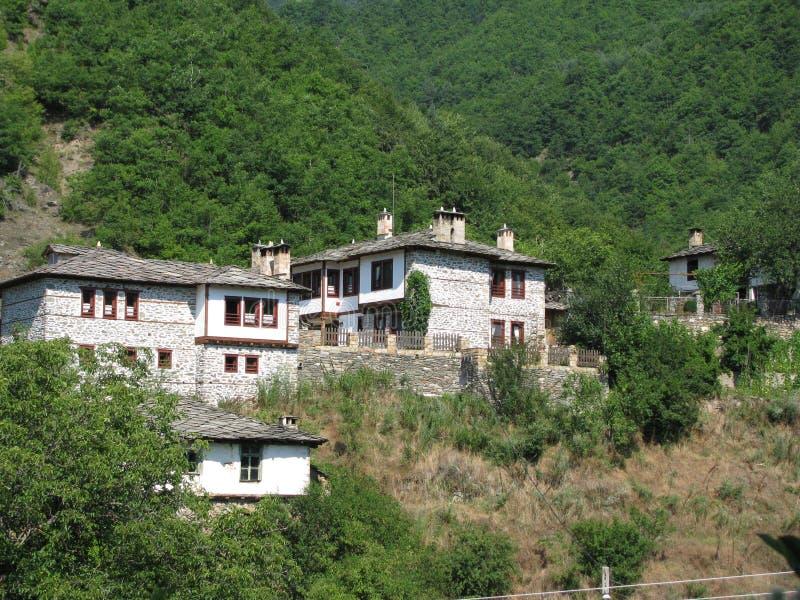 保加利亚中央科索沃mn rhodopi村庄 图库摄影
