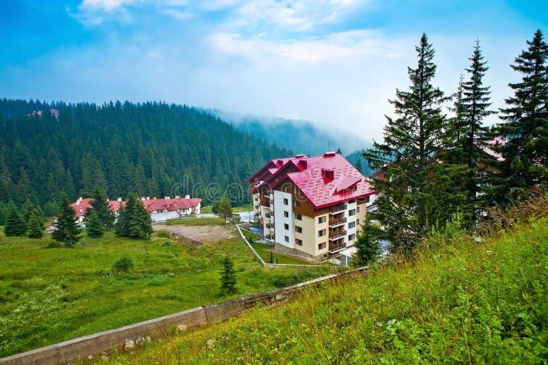 保加利亚实际庄园的属性 库存图片