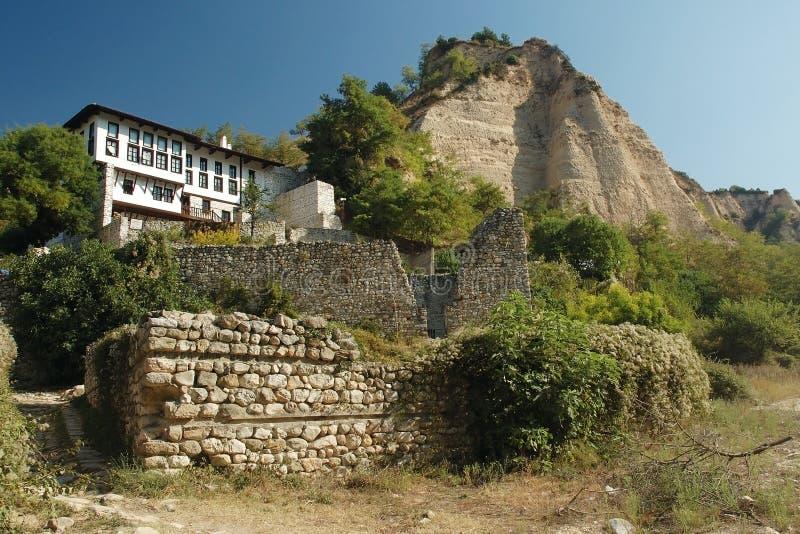 保加利亚小酒馆 图库摄影