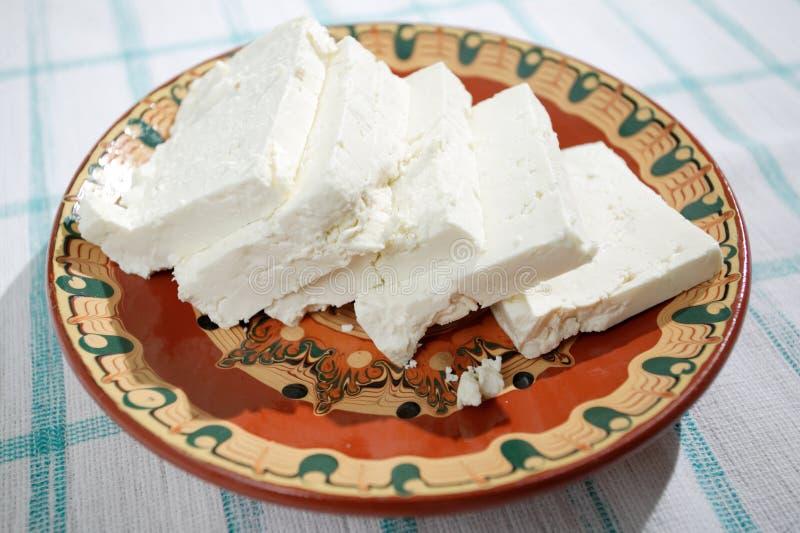 保加利亚干酪希脂乳 库存图片