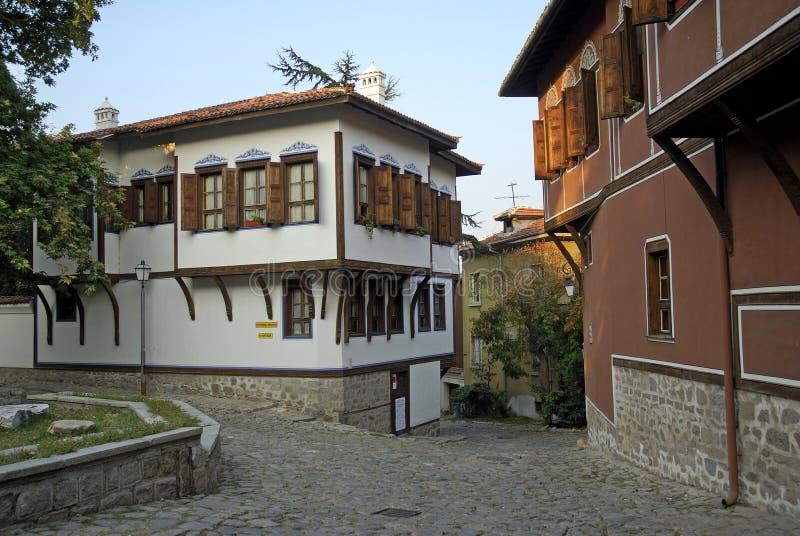 保加利亚普罗夫迪夫 免版税图库摄影
