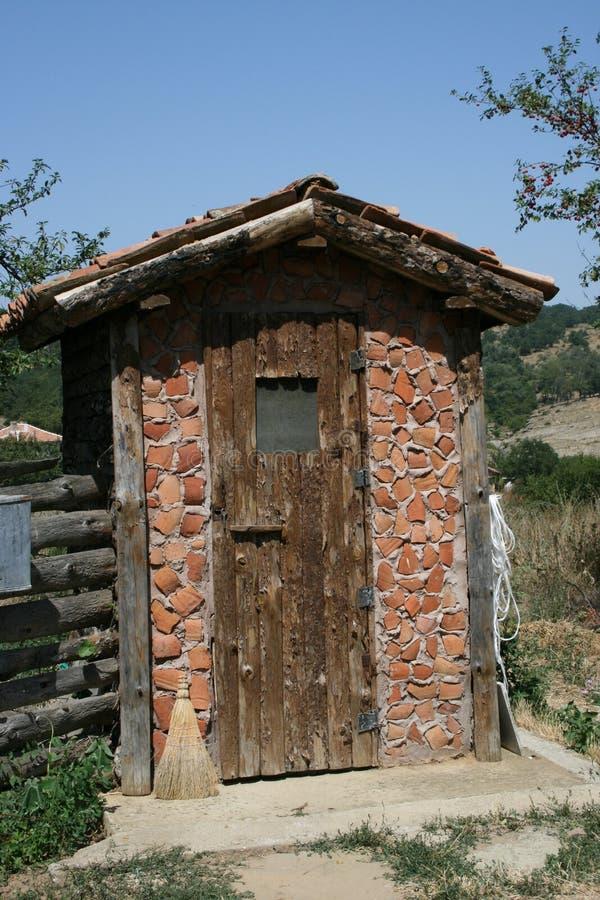 保加利亚洗手间 免版税库存图片