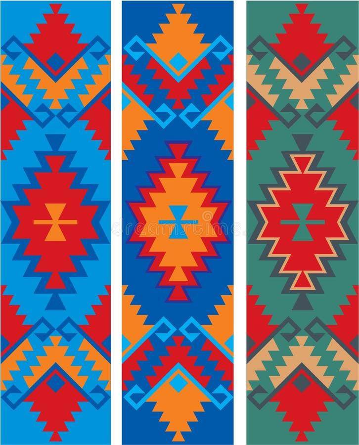 保加利亚种族装饰品 库存例证