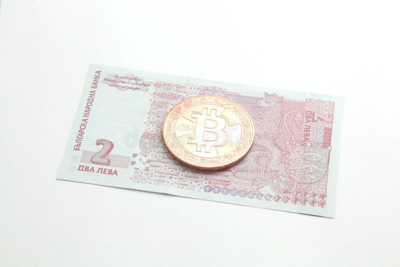 保加利亚金钱 库存图片