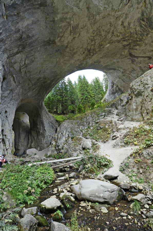 保加利亚,自然桥梁 免版税库存图片