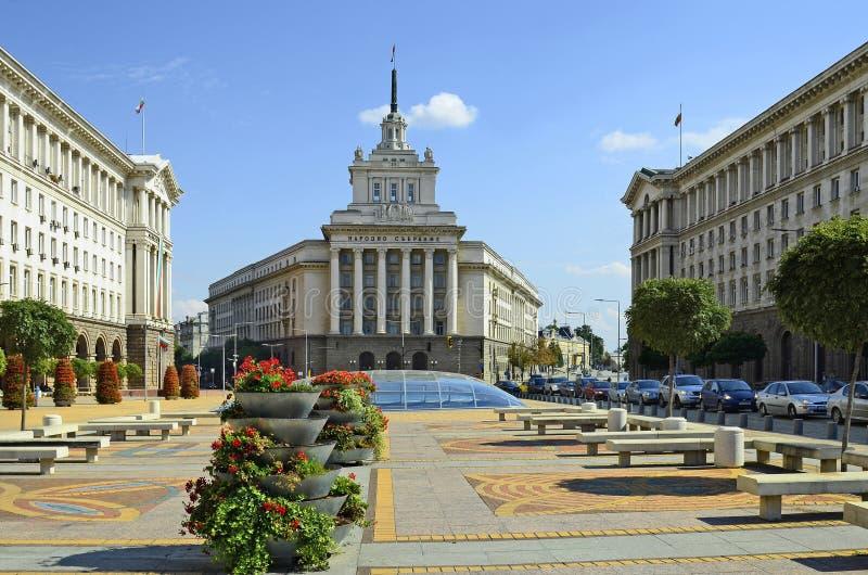 保加利亚,索非亚 免版税图库摄影