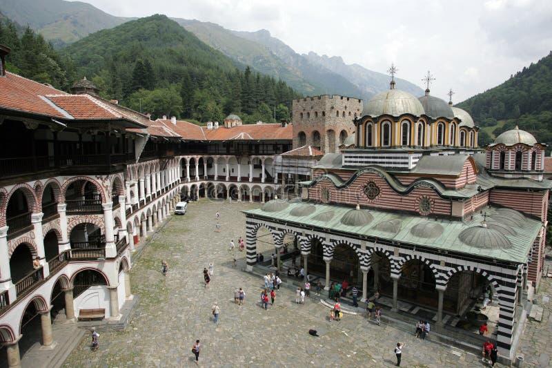 保加利亚- Rila修道院 库存照片
