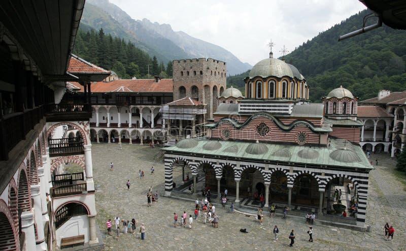 保加利亚Rila修道院 库存照片