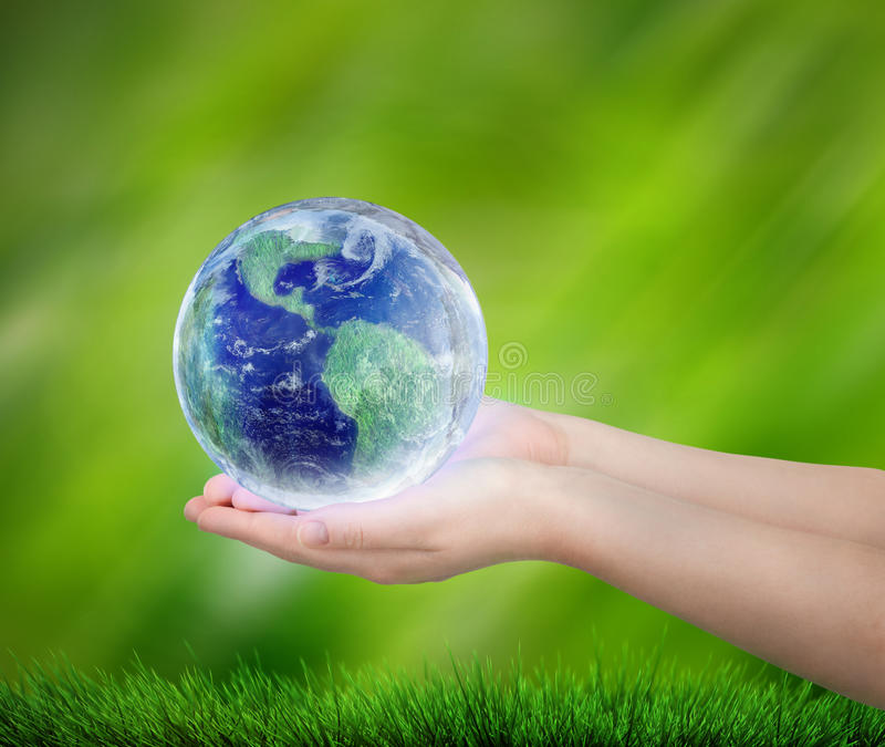 保存地球 库存例证