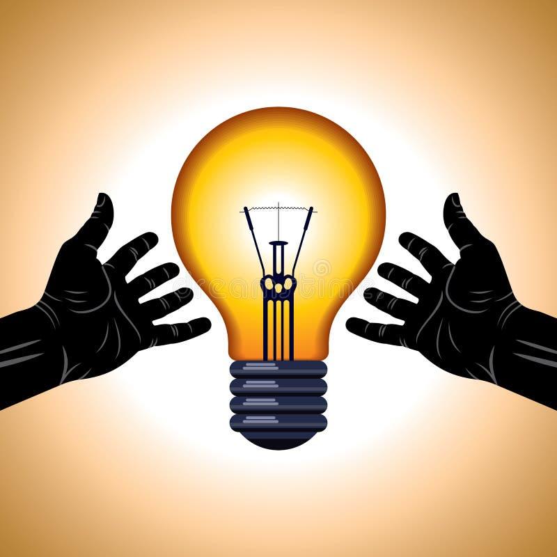 保存能源想法 库存图片