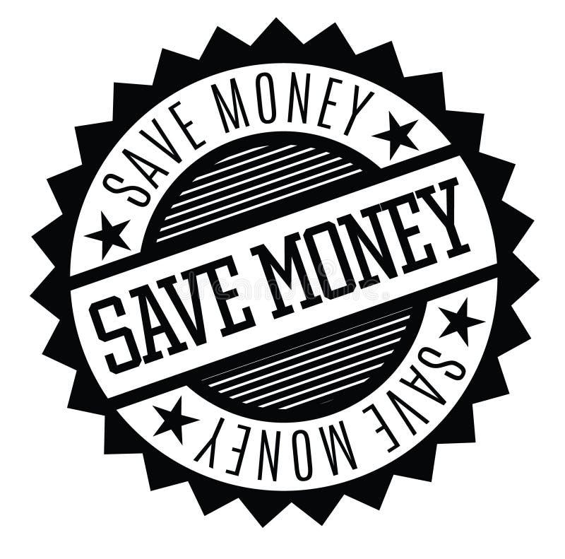 保存金钱不加考虑表赞同的人 库存例证