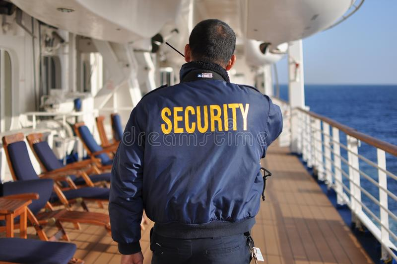 保安人员 免版税库存图片