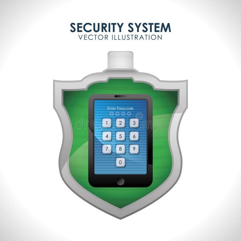Download 保安系统设计 向量例证. 插画 包括有 卫兵, 确保, 危险, 保护, 防御, 概念, 片剂, 概念性, 保险 - 59104056