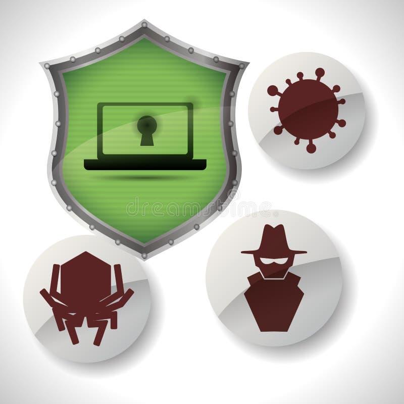 Download 保安系统设计 向量例证. 插画 包括有 膝上型计算机, 想法, 安全性, 概念性, 形状, 投资, 系统 - 59104103
