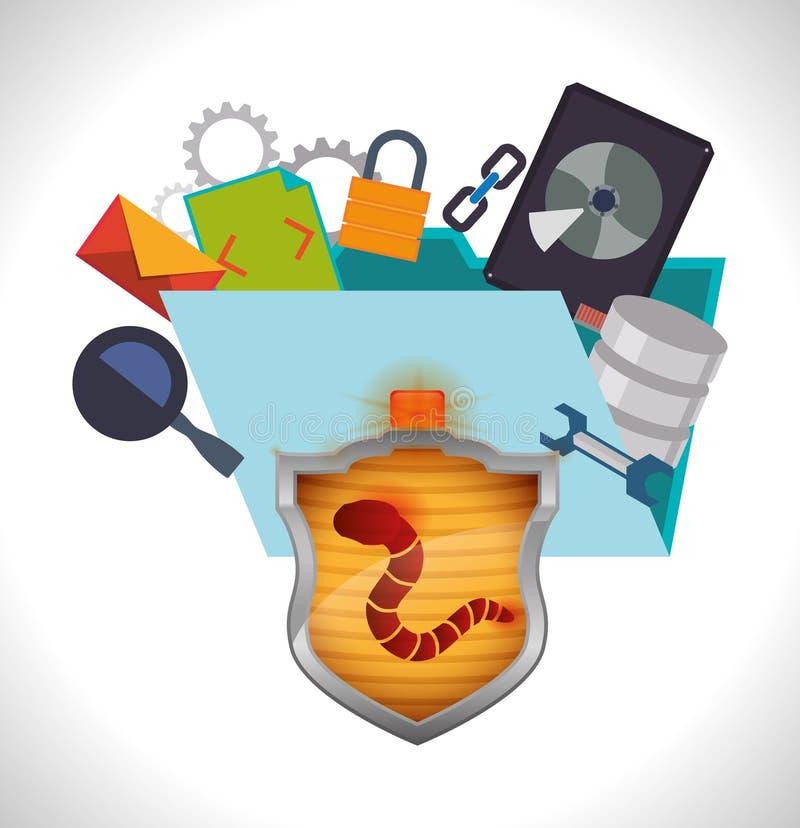 Download 保安系统设计 向量例证. 插画 包括有 符号, 安全, 确保, 保护, 挂锁, 互联网, 电话会议, 巩固 - 59104217