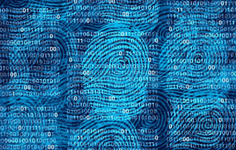 保密性用户数据 向量例证