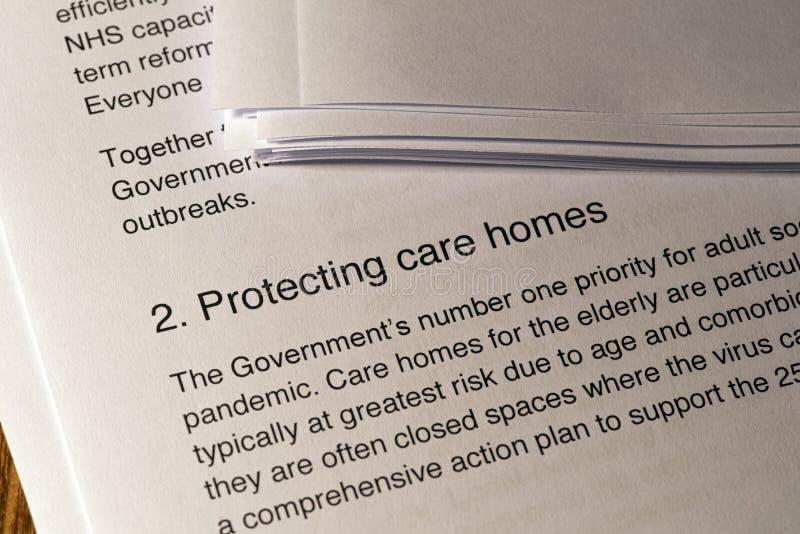 保护家庭免受冠状病毒的侵害 免版税图库摄影
