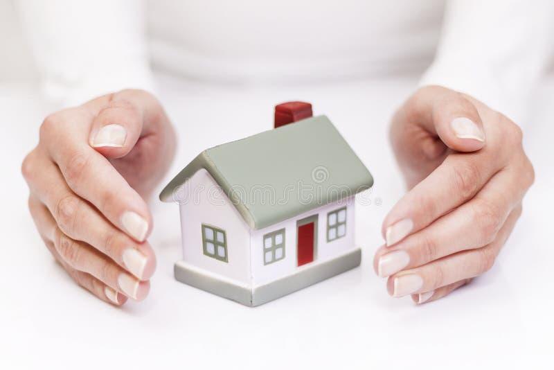 保护您的之家 免版税库存图片