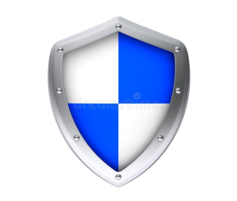 保护概念。防护盾