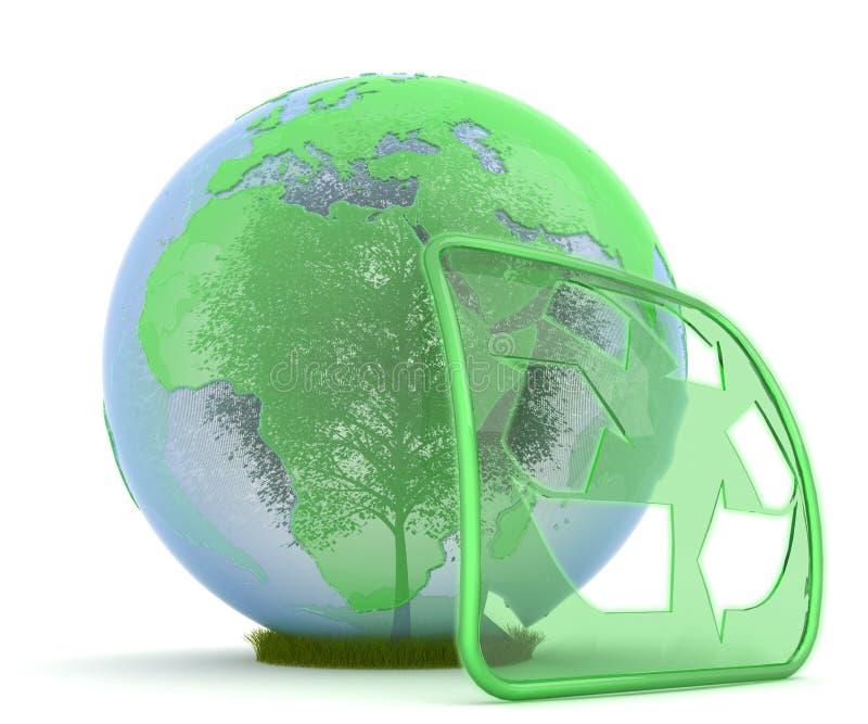 保护环境 向量例证