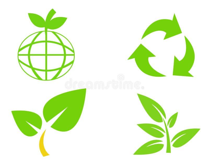 保护环境sym 皇族释放例证