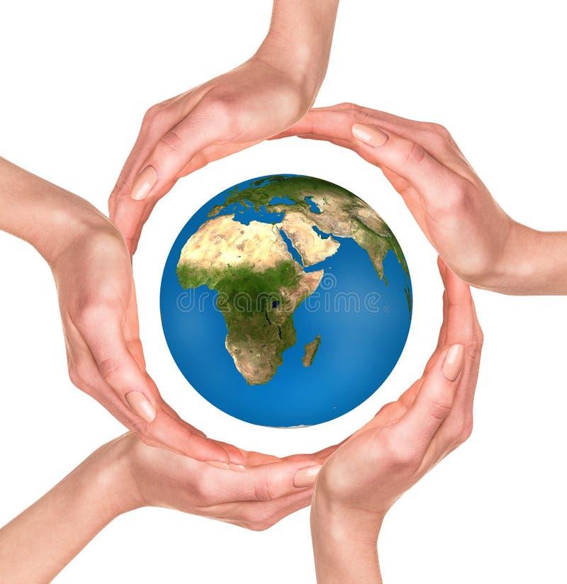 保护的世界 免版税图库摄影