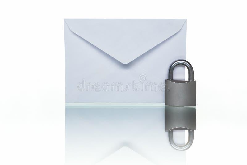 保护的邮件 免版税库存图片
