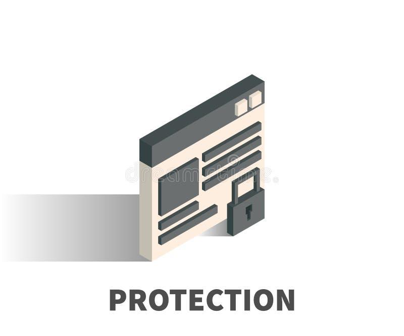 保护象,传染媒介标志 库存例证