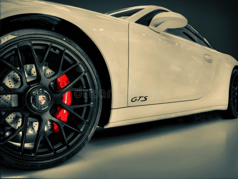 保时捷Carrera 911个GTS 免版税库存图片