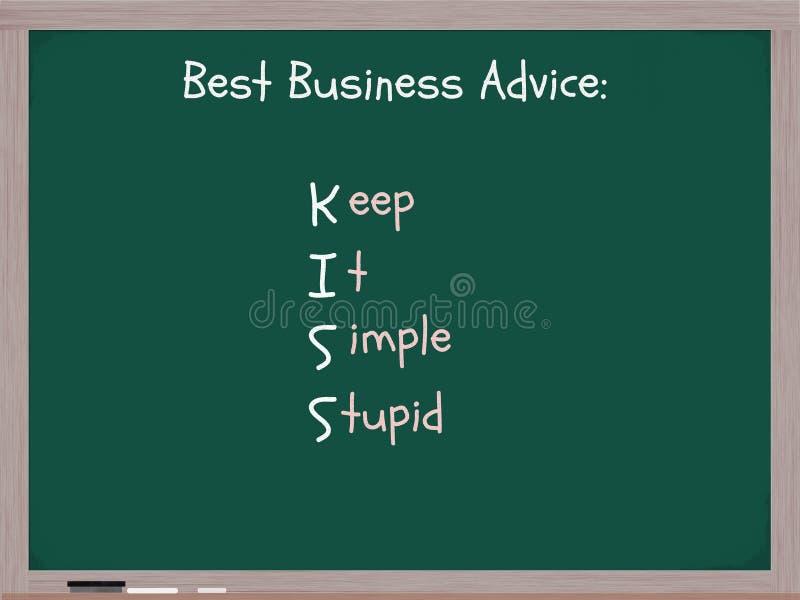 Download 保留简单愚笨 库存例证. 插画 包括有 简单, 可行, 愚笨, 商业, 酸疼的, 会议室, 文字, 亲吻 - 22353450