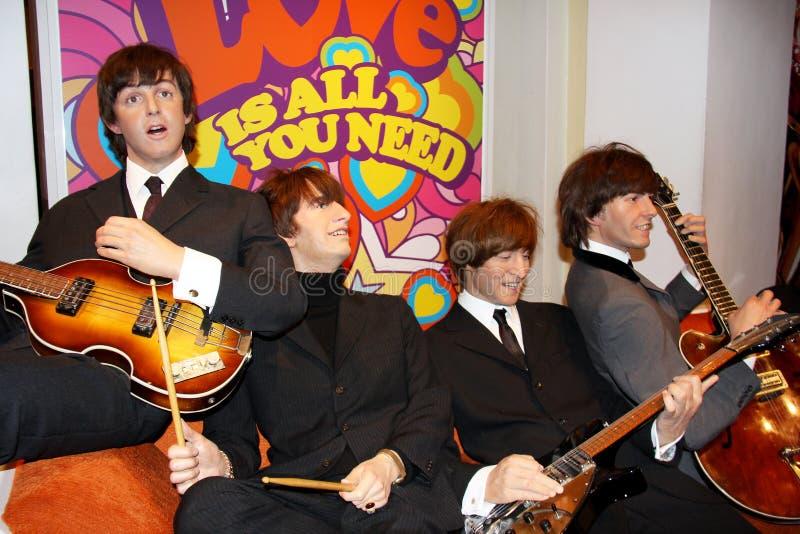 保罗・麦卡特尼和Beatles 免版税库存照片