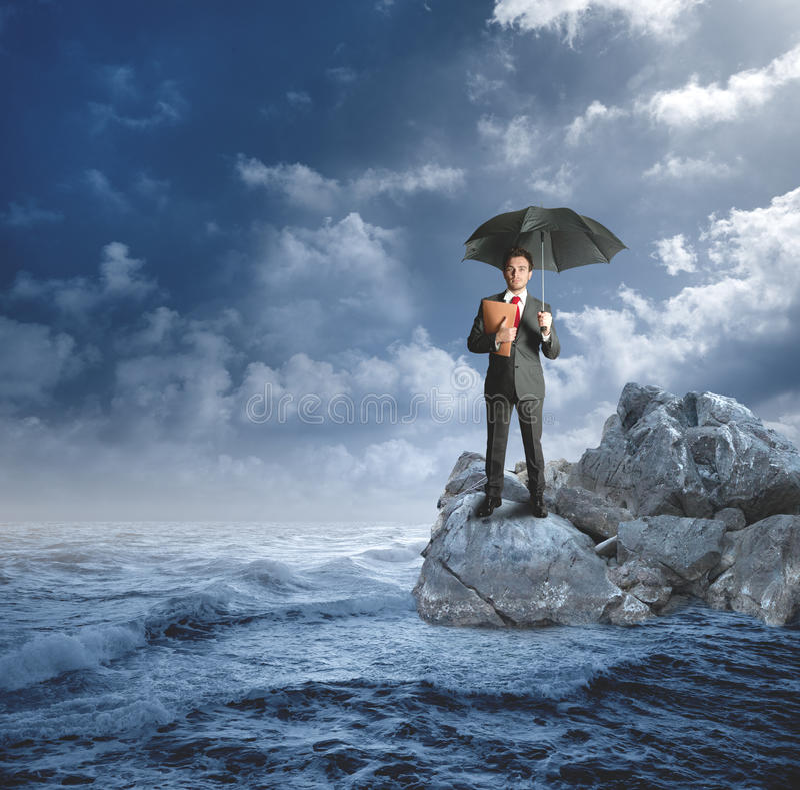 保险保护的概念 图库摄影