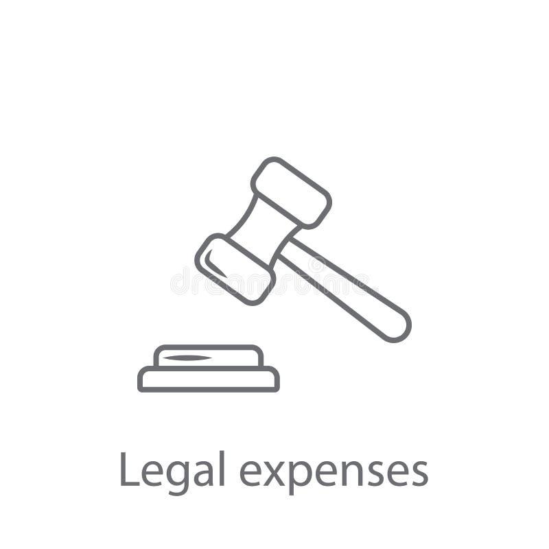保险法象 简单的元素例证 保险法从保险汇集集合的标志设计 能为的网使用 向量例证
