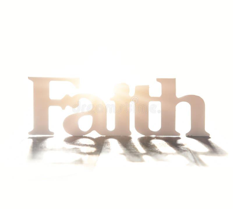 信仰的光明 库存照片