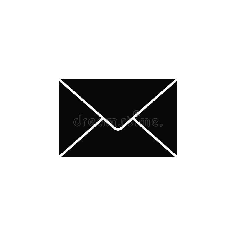 信件,象 简单的象,网络设计,流动应用程序,infographics的元素网站的 网站设计的重线象和 库存例证