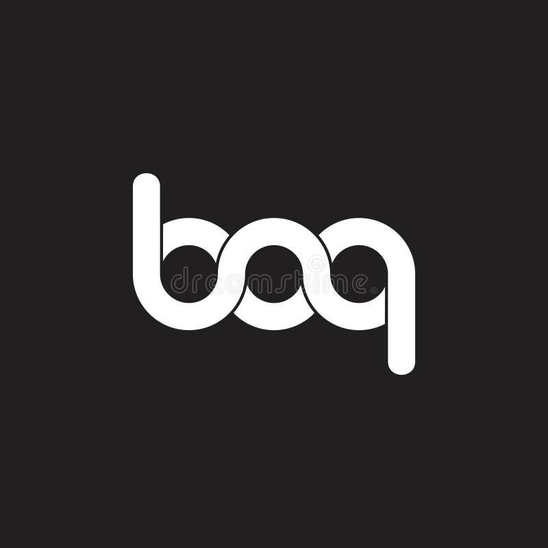 信件bq连接了螺旋无限设计商标传染媒介 皇族释放例证